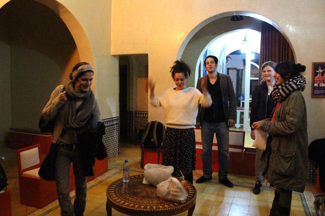 Gastspielreise Marokko: Ankunft im Riad (Photo: suite42)