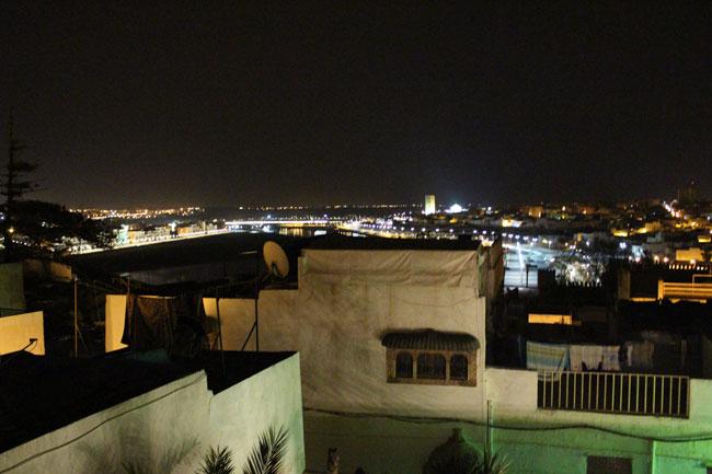 Gastspielreise Marokko: Nächtliche Aussicht (Photo: suite42)