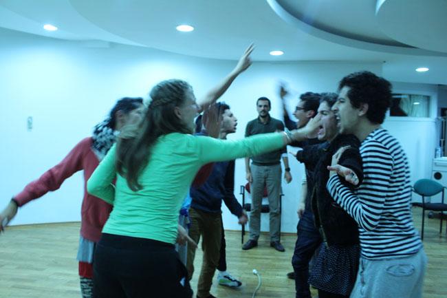 Gastspielreise Marokko: Workshop suite42 + dabateatr in Rabat (Photo: suite42)