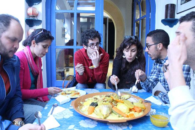 Gastspielreise Marokko: Couscous am Freitag (Photo: suite42)