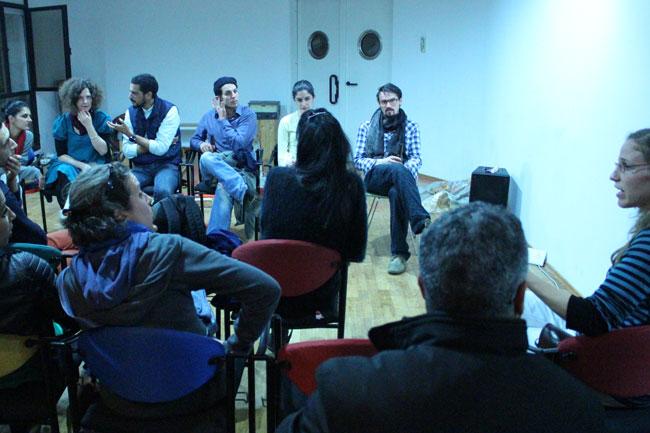 Gastspielreise Marokko: Diskussion nach der Vorstellung in Rabat (Photo: suite42)