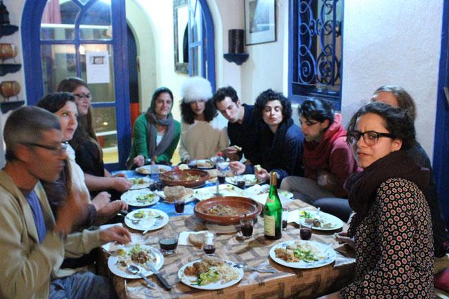 Gastspielreise Marokko: Bei uns im Riad (Photo: suite42)