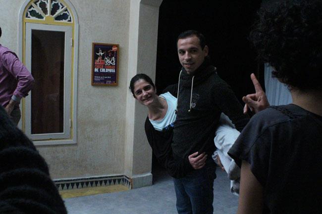 Gastspielreise Marokko: Austausch (Photo: suite42)