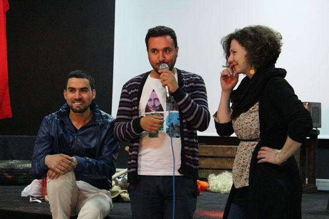 Gastspielreise Marokko: Diskussion nach Hassan in Sefrou (Photo: suite42)