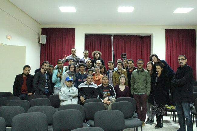 Gastspielreise Marokko: Meeting in Sefrou (Photo: suite42)