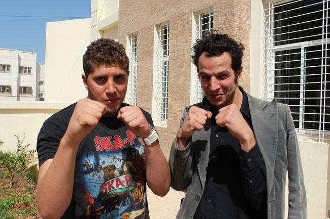 Gastspielreise Marokko: Boxer aus Sefrou und Berlin (Photo: suite42)