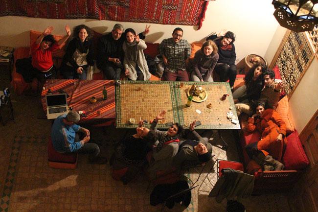 Gastspielreise Marokko: Nach der Vorstellung in Sefrou (Photo: suite42)