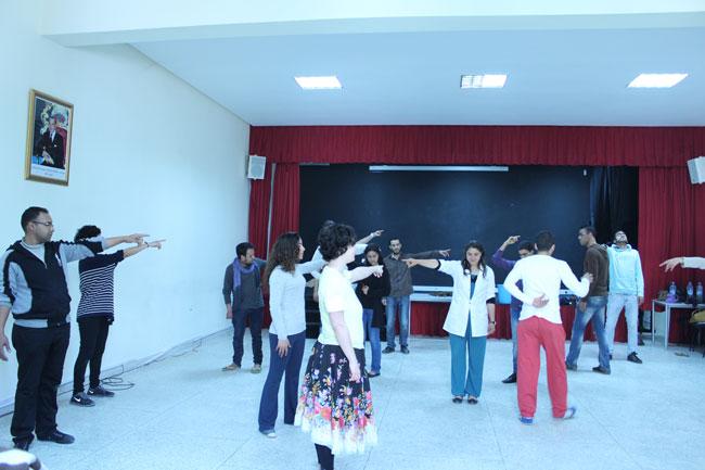 Gastspielreise Marokko: Workshop suite42 in Sefrou (Photo: suite42)