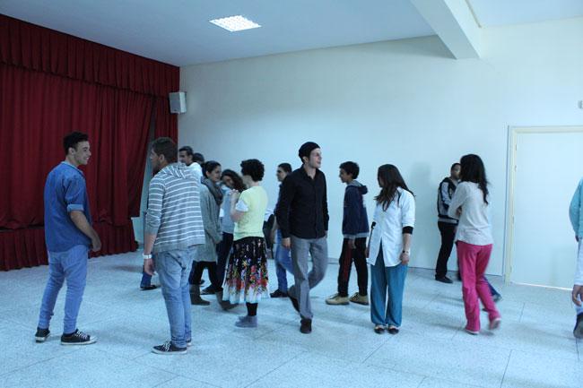 Gastspielreise Marokko: Workshop in Sefrou (Photo: suite42)