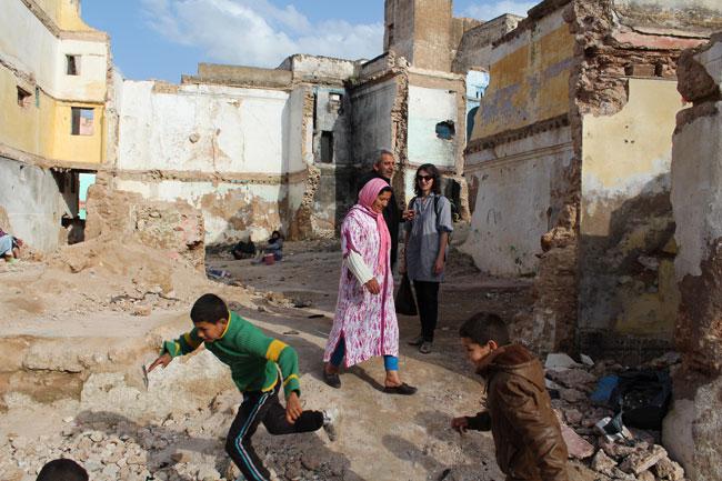 Gastspielreise Marokko: Mellah, Sefrou (Photo: suite42)