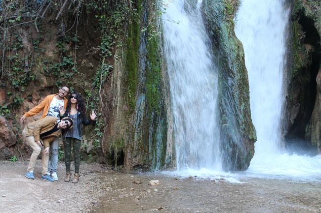 Gastspielreise Marokko: Cascade, Sefrou (Photo: suite42)