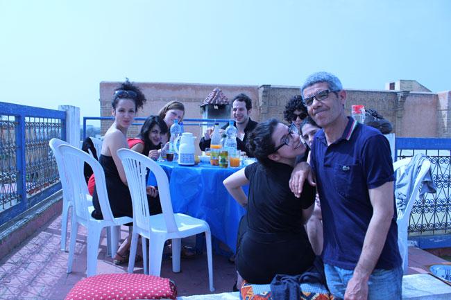 Gastspielreise Marokko: Letztes Frühstück (Photo: suite42)